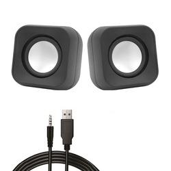 1+1 Mini USB 2.0 Hoparlör Ses Sistemi PC Laptop Notebook İçin