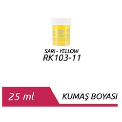 Red Apple Kumaş Boyası 25 ml. Sarı
