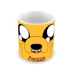 Penguen - Adventure Time Jake Baskılı Kupa Bardak