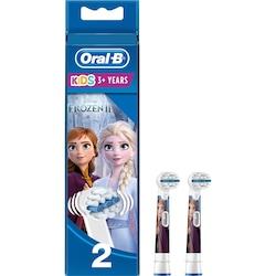 Oral-B Kids 3+ Frozen II Elektrikli Diş Fırçası Yedek Başlığı 2'li