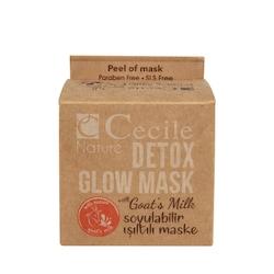 Cecile Nature Keçi Sütlü Soyulabilir Işıltılı Maske 45 Ml