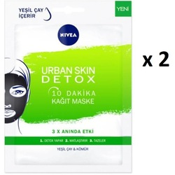 Nivea Urban Skin Detox Kağıt Maske 2 ADET