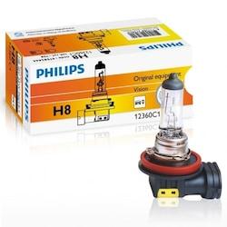 Philips 12360C1 H8 Ampul 12V 35W