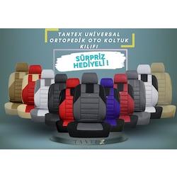 TANTEX Üniversal Ortopedik Oto Koltuk Kılıfı - Tüm Renkler