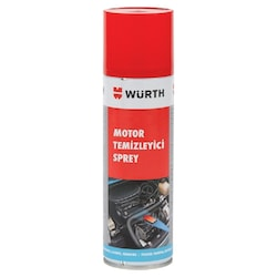 Würth Motor Temizleyici Sprey 500 ml (Su Gerekmez)