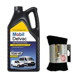 Mobil Delvac LCV 10W40 Hafif Ticari Motor Yağı 7 L