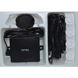 Ses Uyarılı Geri Vites Park Sensörü 22mm Beyaz Lens TETRA