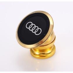 Audi Uyumlu Mıknatıslı Gold Telefon Tutucu Carmaniaks CRM5023