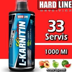 Hardline L-Karnitin Thermo 1000 Ml 33 Servis 2000 MG L Carnitine