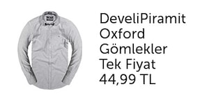 develi piramit oxford gömlekler