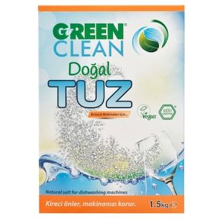 U Green Clean Doğal Bulaşık Makinesi Tuzu 4 x 1500 G