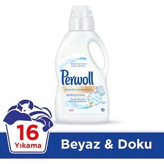 Perwoll Beyaz Doku Sıvı Çamaşır Deterjanı 16 Yıkama 1 L