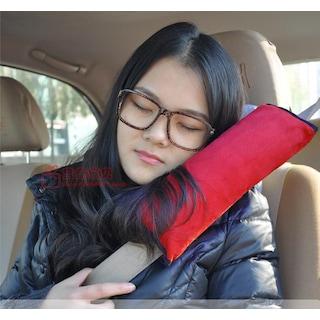 Bundera Oto Emniyet Kemeri Tutucu Uyku Pedi Yastık Yolcu Yastığı