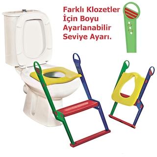Çocuk Klozet Adaptörü Kapağı Moonstar Tuvalet Eğitici Alıştırıcı