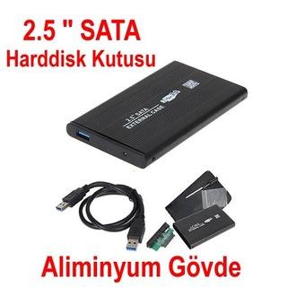 2.5 Sata Harddisk Kutusu-USB 2.0 - 3.0  Notebook Diskleri HDD Kut