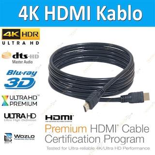 1m / 1.8m / 3m / 5m / 10m / 15m / 20m 4K Hdmi Kablo 3D Ultra HD