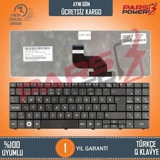 Casper Nirvana H36, H36FD, H36FF, H36X Notebook Klavye (Siyah TR)
