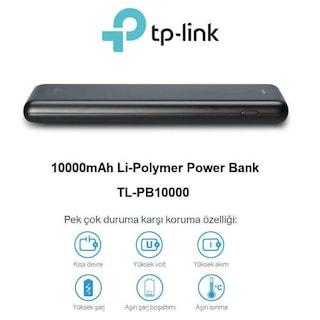 Tp-link Tl-pb10000 10.000 Mah Li-polymer Powerbank