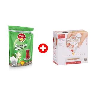 Doğuş Çay Avantaj Bergamot Aromalı 25x40gr+Balparmak Katla Balla