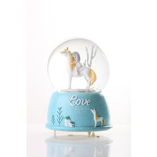 Sevgiliye Hediye Doğadaki Prenses Kar Küresi 8 cm Işıklı