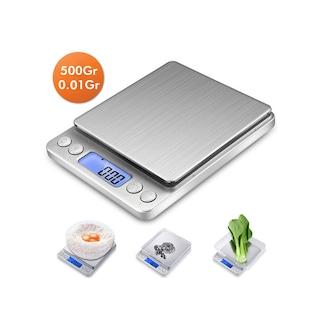 Dijital Hassas Mutfak Tartısı - Mutfak Terazisı 500Gr/0.01Gr