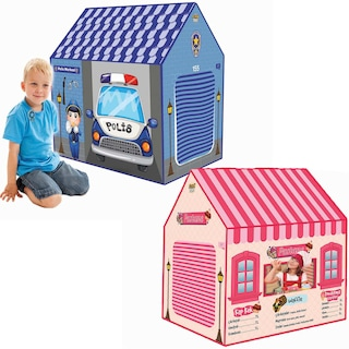 Kız ve Erkek Çocuk Oyun Evi Oyun Çadırı Polis Merkezi ve Pastane