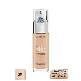 L'Oréal Paris True Match Bakım Yapan Fondöten 2R ROSE VANILLA