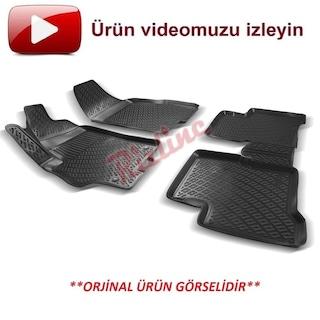 Rizline Fiat Linea 3D Havuzlu 3D Havuzlu Paspas  Hediyeli