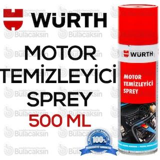 Würth Motor Temizleme Spreyi 500 ml / Su Gerekmez