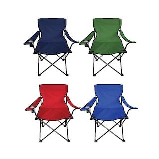 Ege 2 Adet Çantalı Kamp Sandalyesi Balıkçı Plaj Piknik Koltuğu