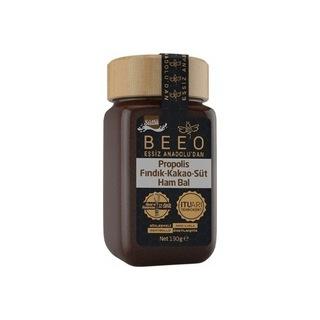 Bee'o Süt - Kakao - Fındık - Bal - Propolis Karışımı (190 Gr.)