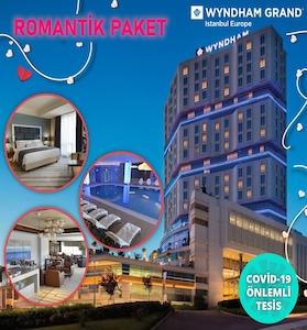 Güneşli Wyndham Grand İstanbul Europe Hotel'de Romantik Tatil