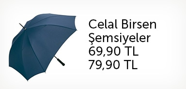 Celal Birsen Şemsiyelerde İndirim Fırsatı - n11.com
