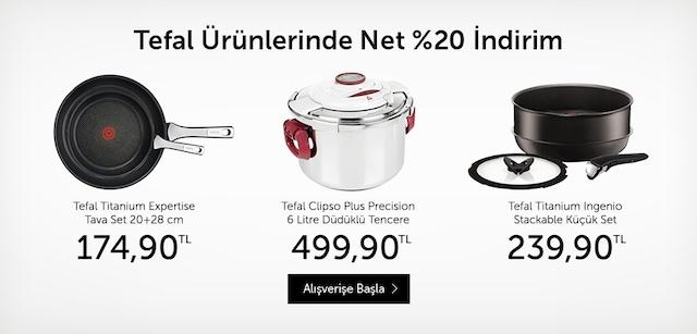 Tefal Ürünlerinde Net %20 İndirim - n11.com