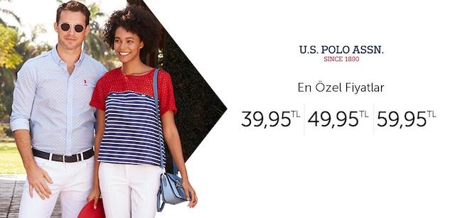 U.S.PoloAssn. En Özel Fiyatlar 39,95 TL - 49,95 TL - 59,95 TL