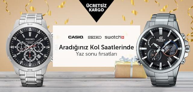 Casio Seiko Swatch ve Birçok Markada Bayram Fırsatları