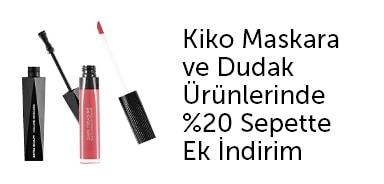 KIKO MILANO - Maskara ve Dudak Ürünlerinde %20 Sepette Ek İndirim - n11.com