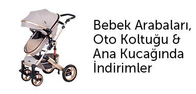 Bebek Arabaları, Oto Koltuğu & Ana Kucağında %50'ye Varan İndirimler - n11.com