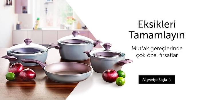 Mutfak Gereçleri Karma Kampanyası