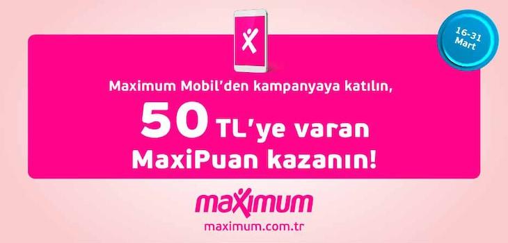 İş bankası Maxipuan kampanyasi