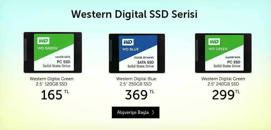Western Digital SSD Fırsatları