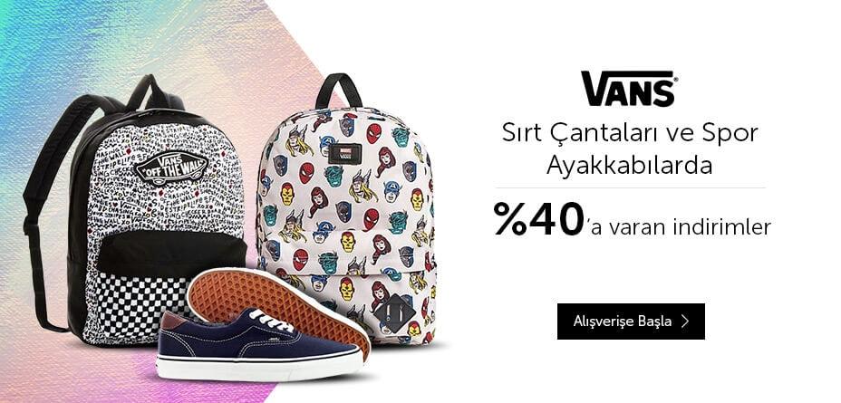 Vans, ayakkabı, çanta