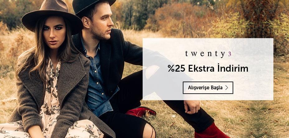 Twenty3 kadın erkek giyimde fırsat