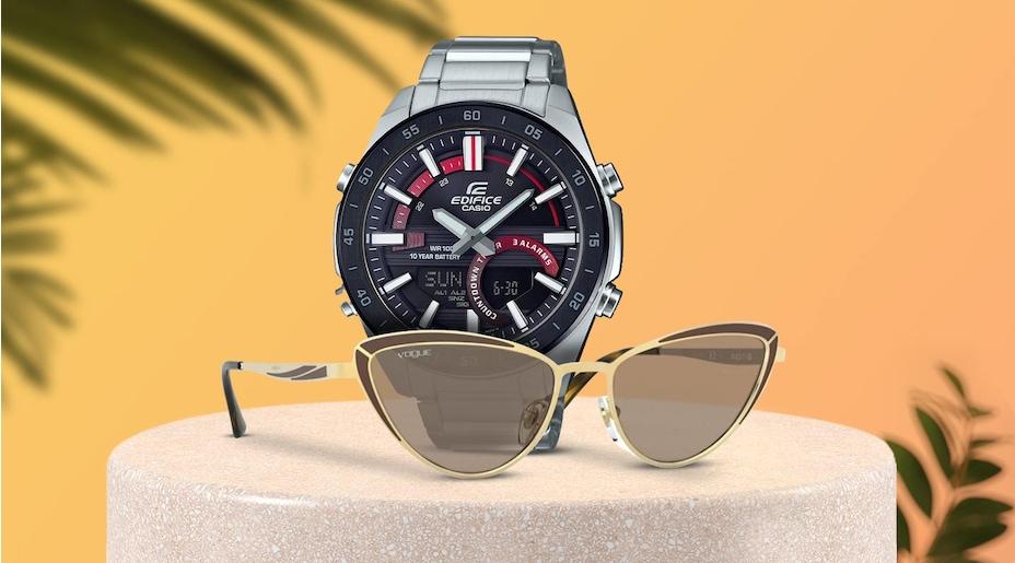 saat, güneş gözlüğü