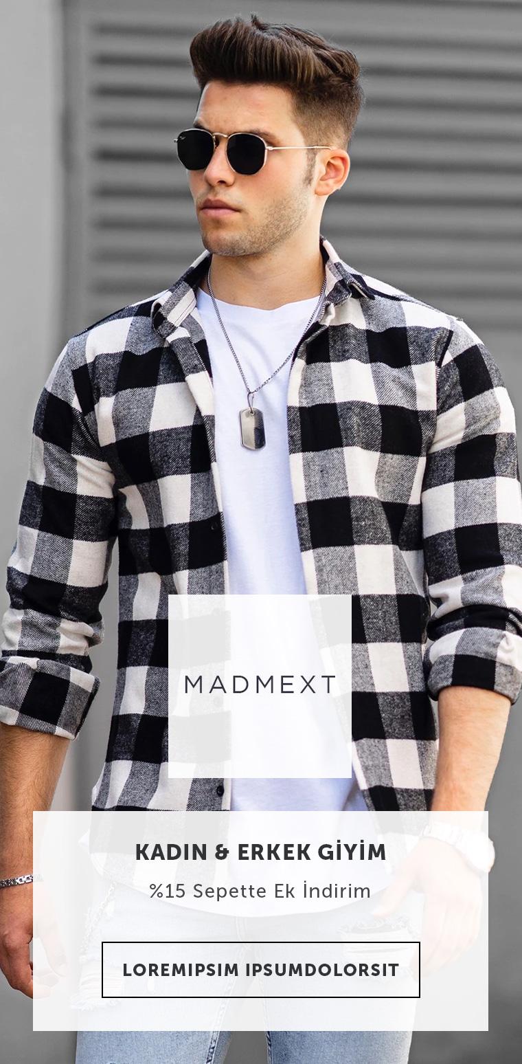 Madmext Giyim & Ayakkabı Ürünlerinde %15 Sepette Ek İndirim