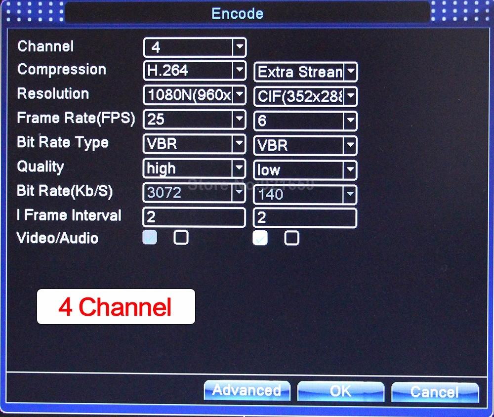 04 4Ch AHD DVR