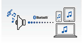 Bluetooth aracılığıyla kablosuz müzik akışı