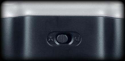 Close up of XInput/DirectInput selector