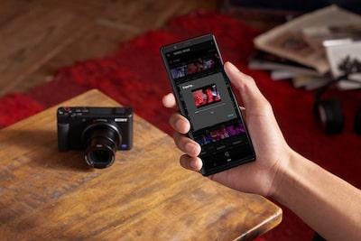Videolarınızı anında akıllı telefonunuza aktarın