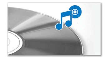 MP3-CD, CD ve CD-R/RW çalma olanağı